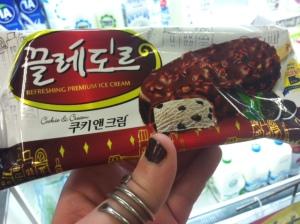Korean Ice cream treat