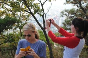 Social media on the mountain
