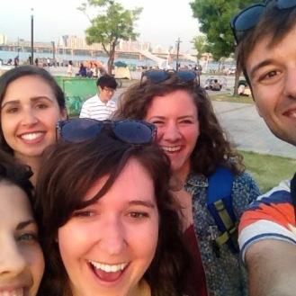 Those river selfies