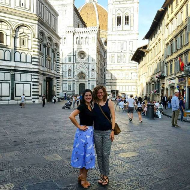 Back in Florence together! Original Italy buddy