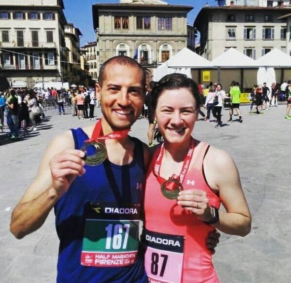 We did it! A half marathon