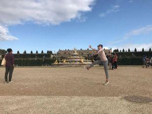 Leaps on Versailles! My album art