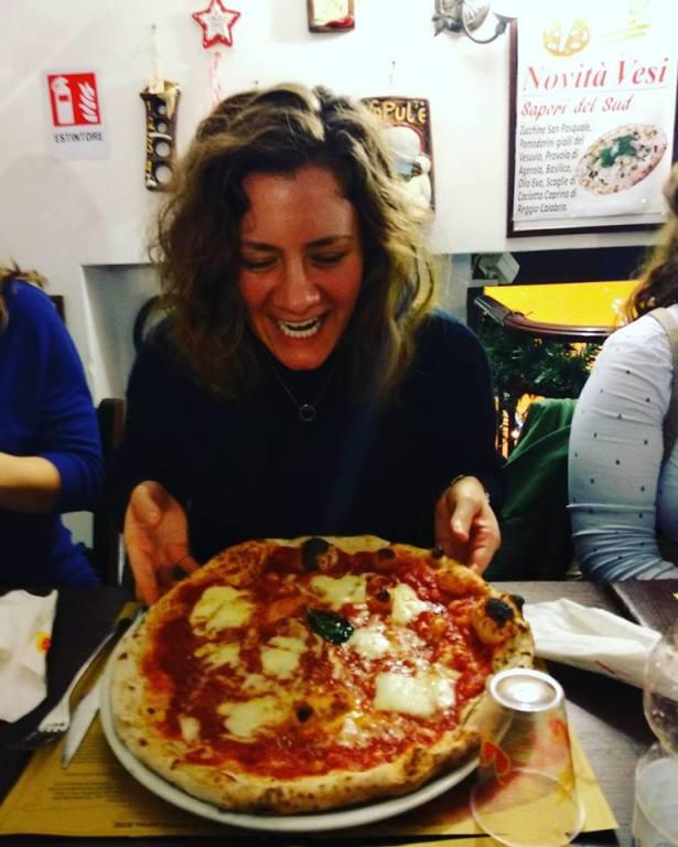 Pizza. Naples. Yes.