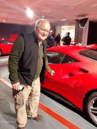Ferrari museum smiles